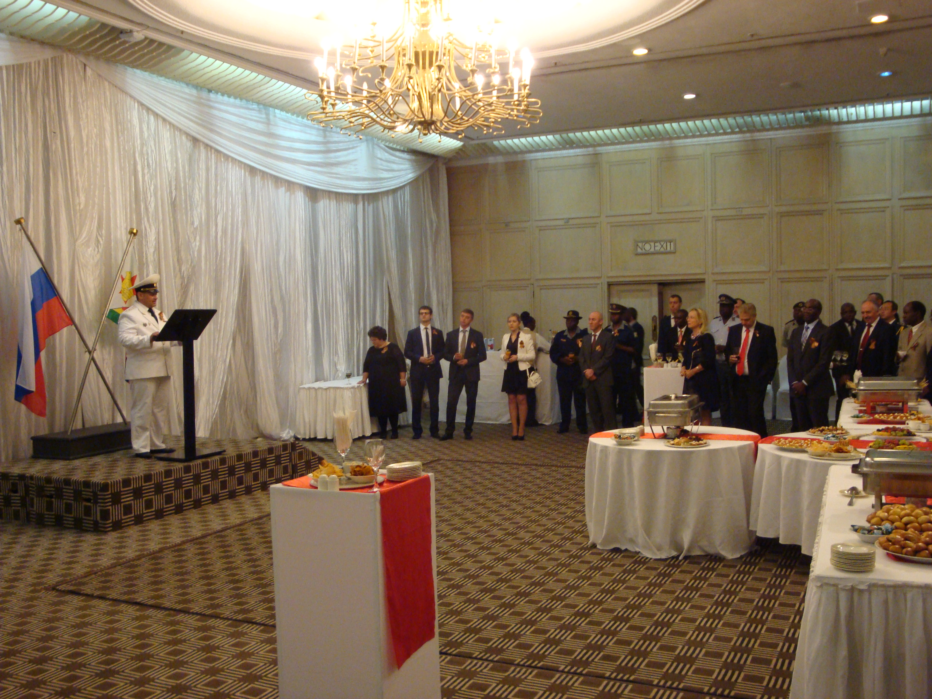Victory Day Celebrations by the Russian Embassy in Zimbabwe