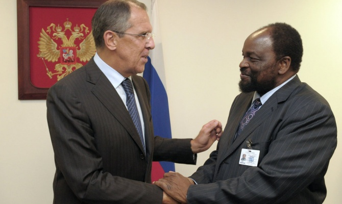 Congratulatory Message by the Russian Foreign Minister