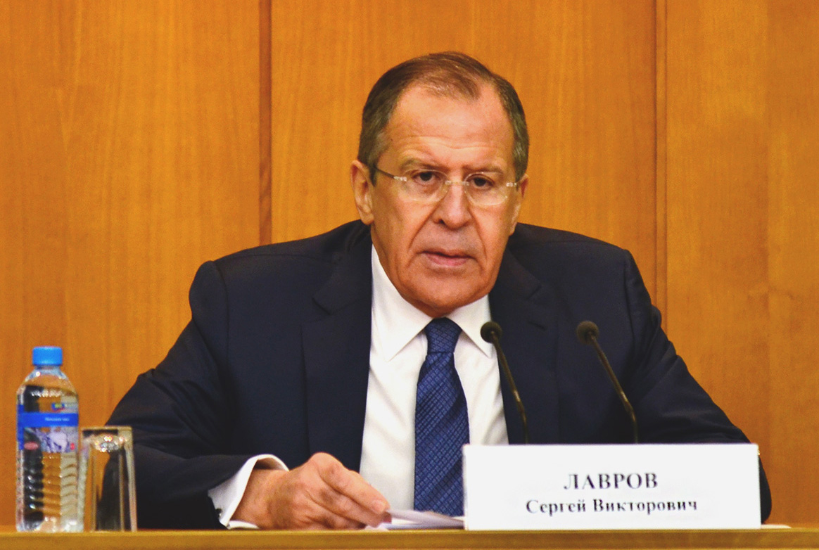 Sergey Lavrov's news conference on Russia's diplomacy performance in 2015