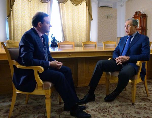 FM Sergey Lavrov's interview with Sergey Brilyov, Vesti v Subbotu, on TV channel Rossiya 1