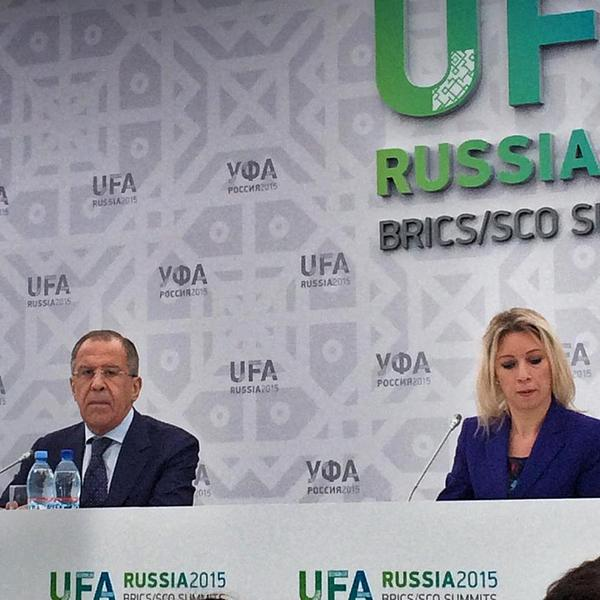 FM Sergey Lavrov's news conference on the sidelines of the BRICS and SCO summits