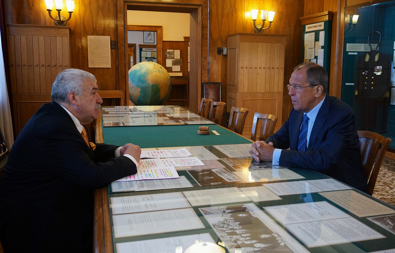 """FM Sergey Lavrov's interview with the TASS news agency for the TV film from the """"Formula of Power"""""""