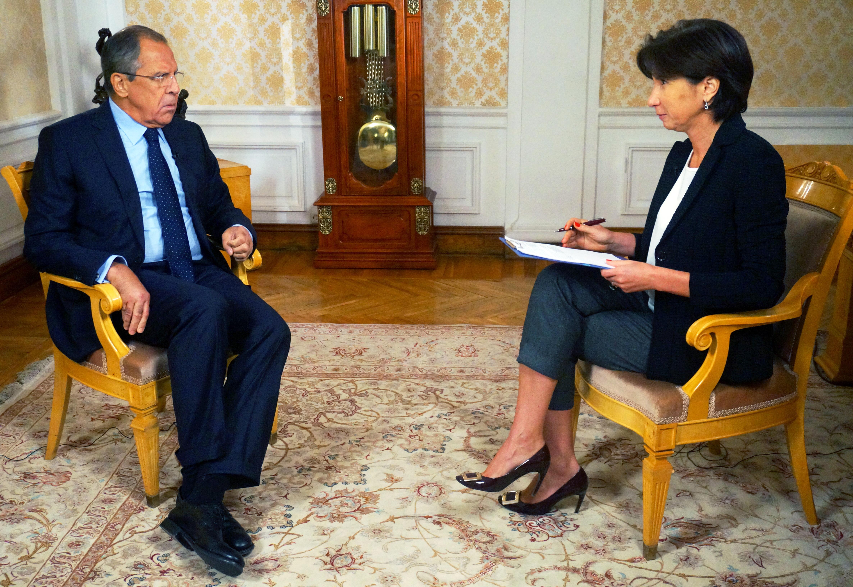 Foreign Minister Sergey Lavrov's interview with Voskresnoye Vremya TV programme