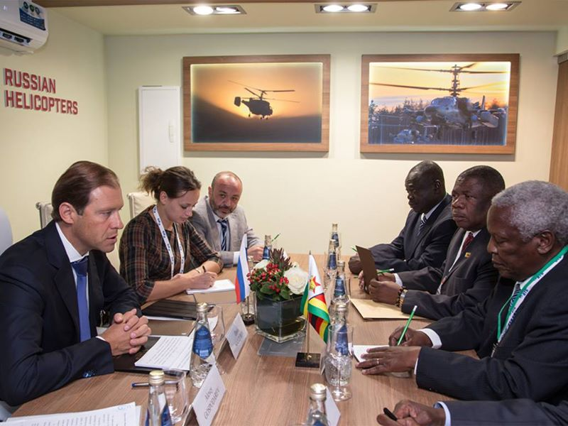 Denis Manturov held a meeting with the Minister of Defence of the Republic of Zimbabwe