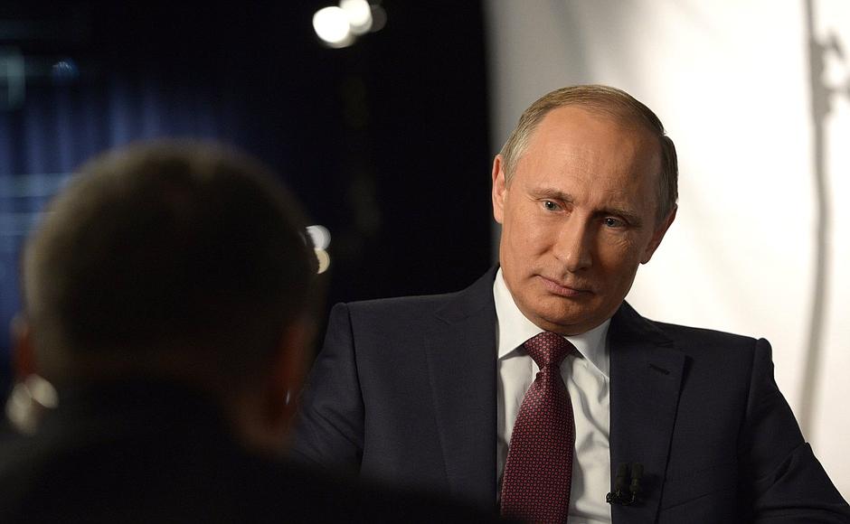 Interview to Vladimir Solovyov
