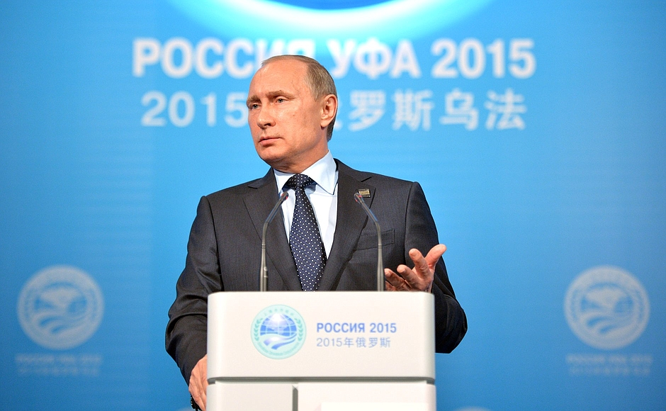 News conference by Vladimir Putin following the BRICS and SCO summits