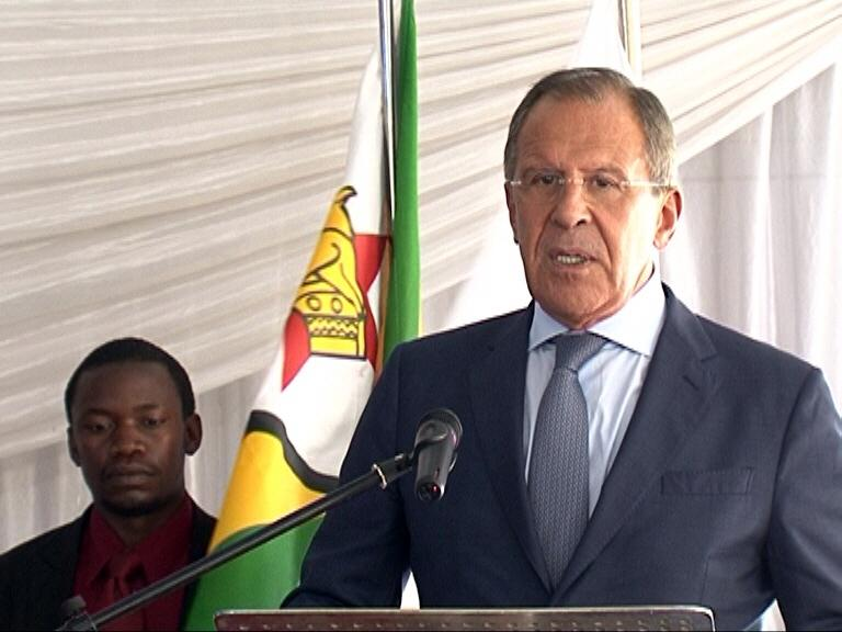 Сomment by Russian Foreign Minister Sergey Lavrov on the results of negotiations with President Robert Mugabe of the Republic of Zimbabwe, Harare