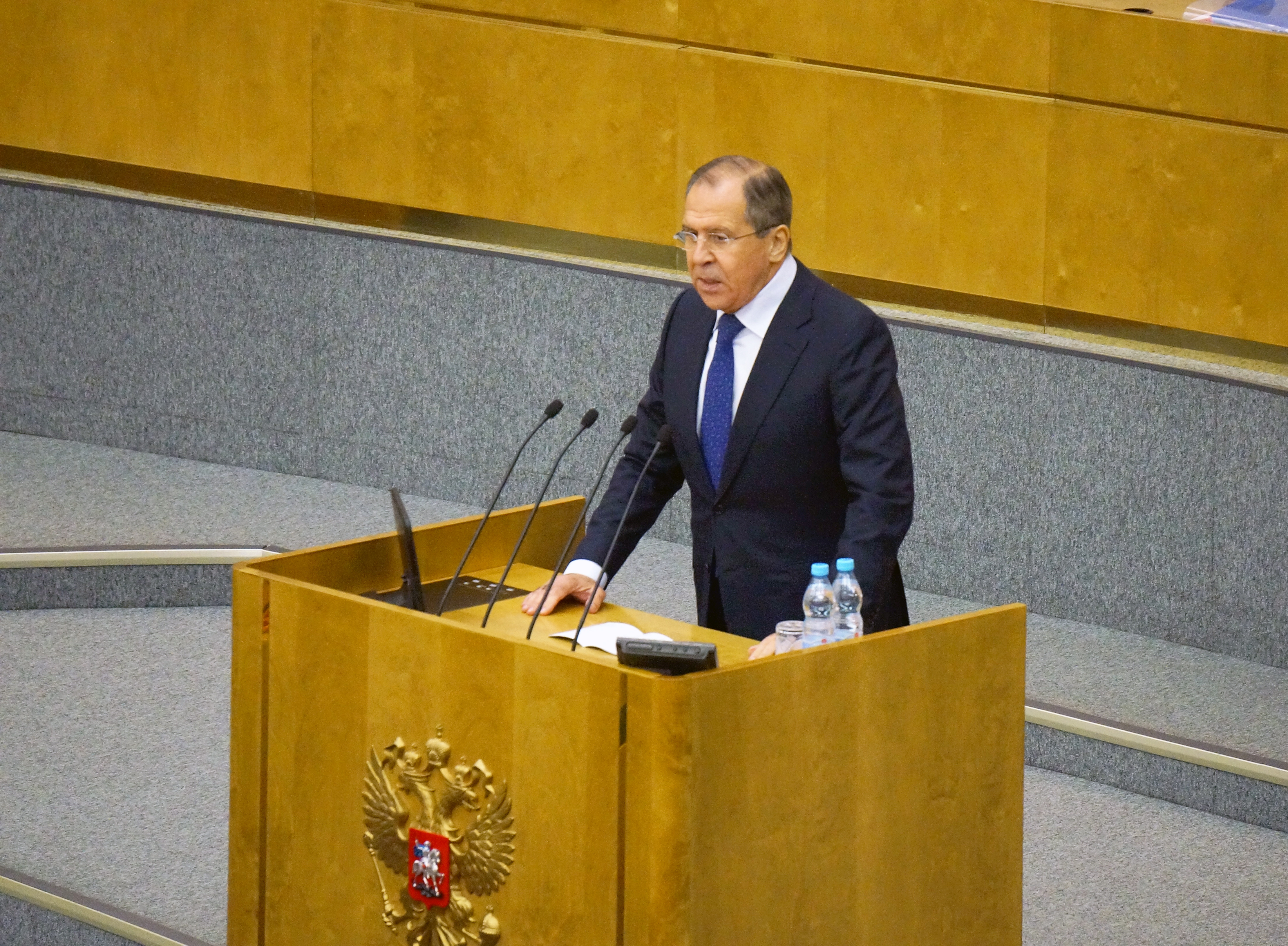 Foreign Minister Sergey Lavrov's remarks and answers to media questions during Government Hour at the State Duma of the Federal Assembly of the Russian Federation