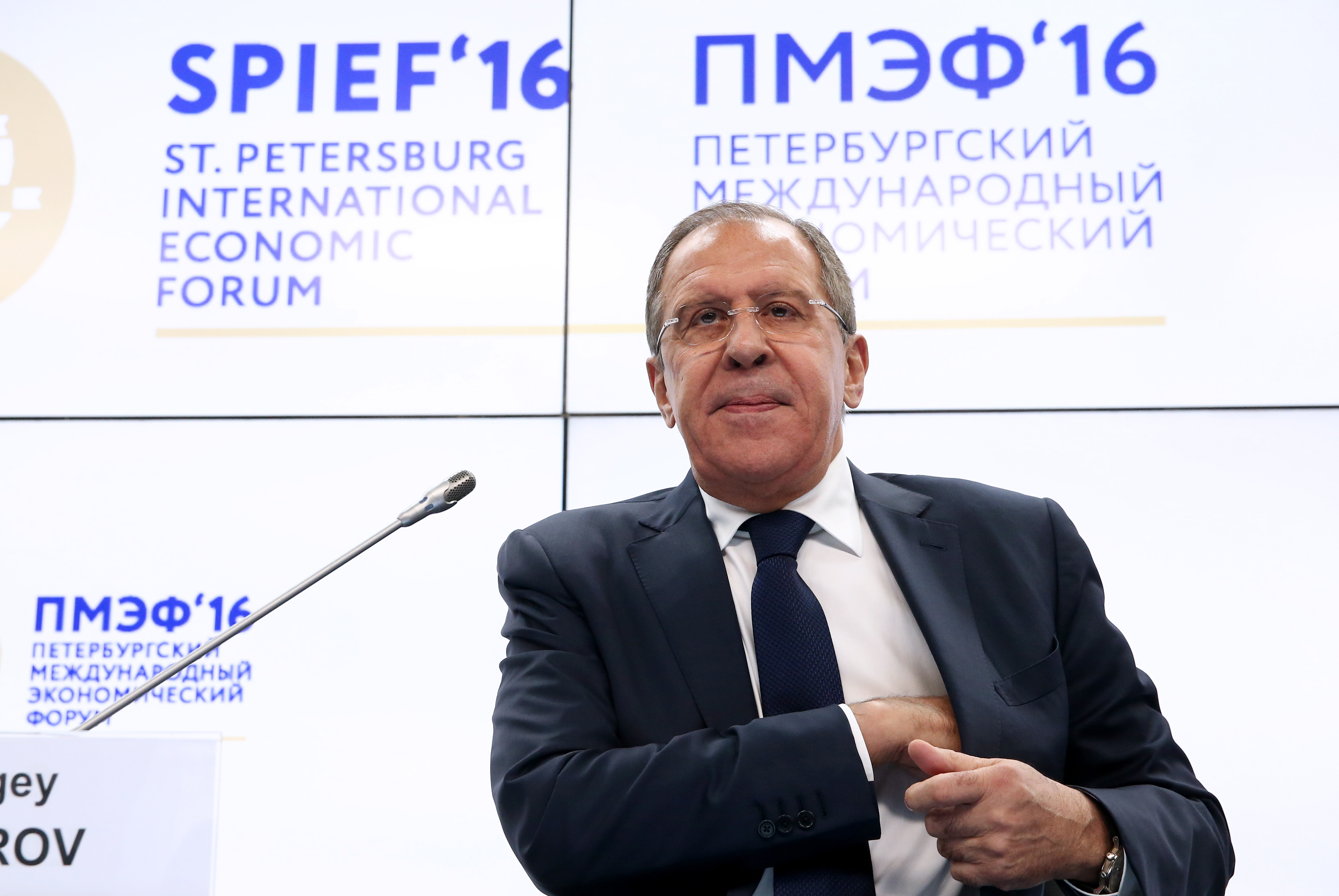 Foreign Minister Sergey Lavrov's remarks and answers to questions at the St Petersburg International Economic Forum