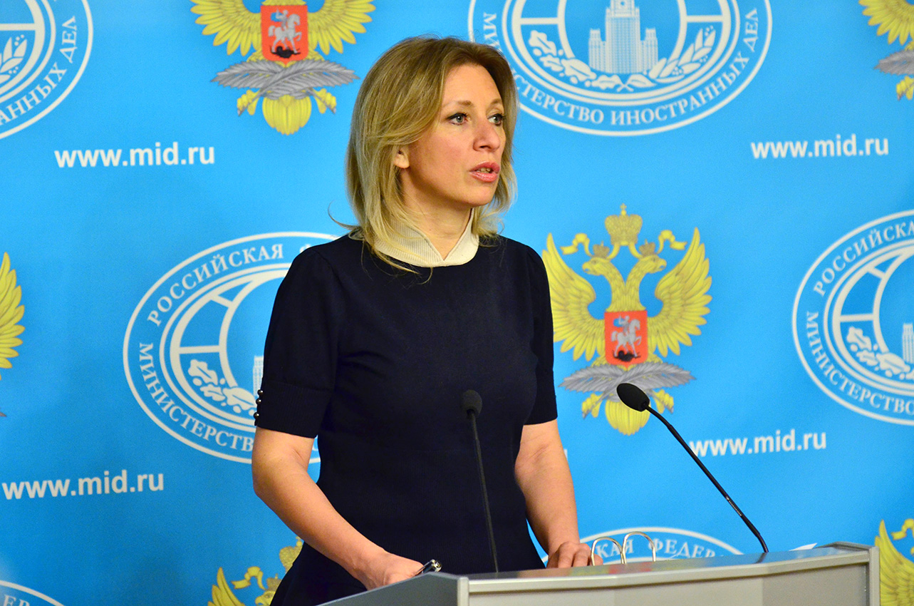 Briefing with Foreign Ministry Spokesperson Maria Zakharova