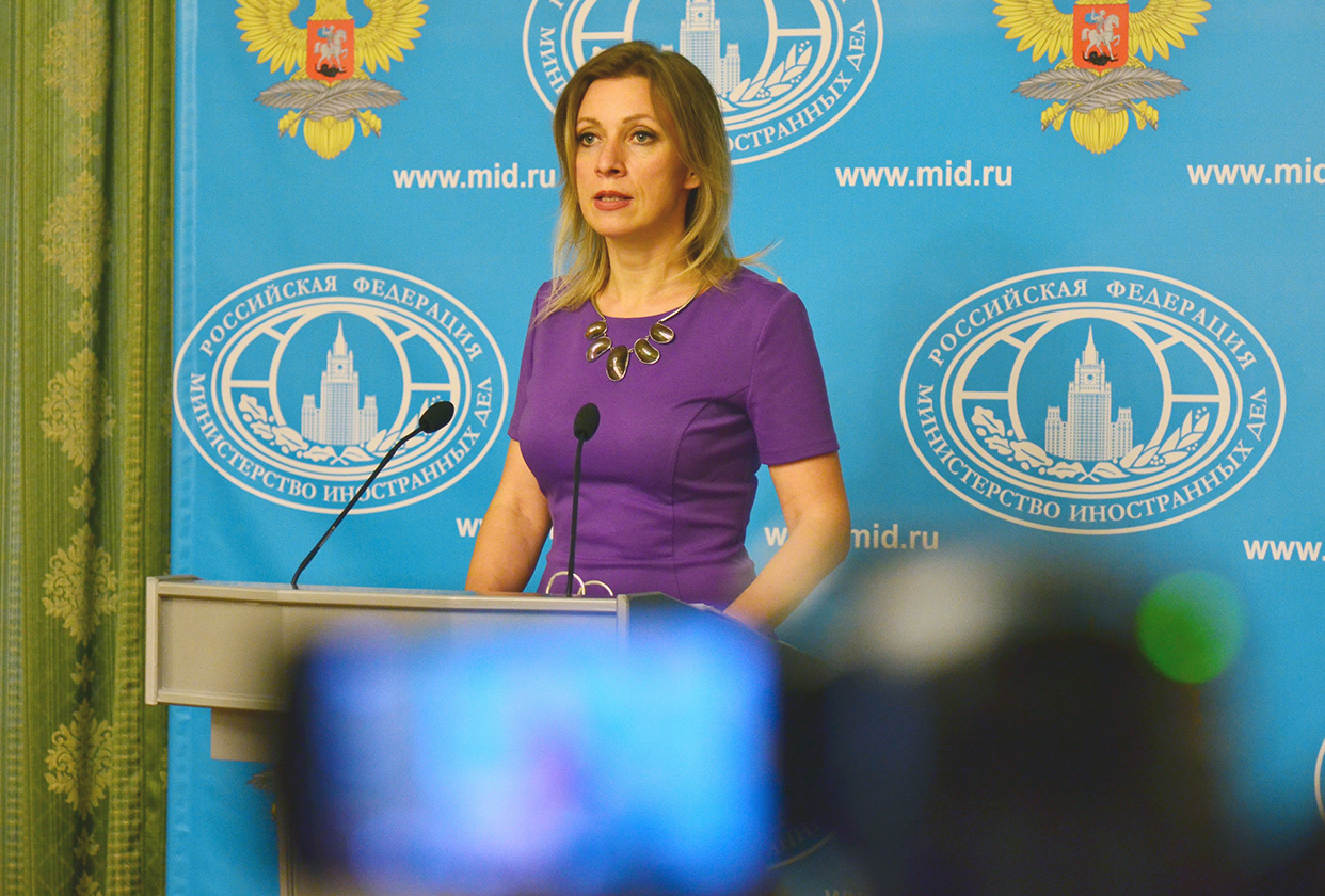 Briefing by Foreign Ministry Spokesperson Maria Zakharova